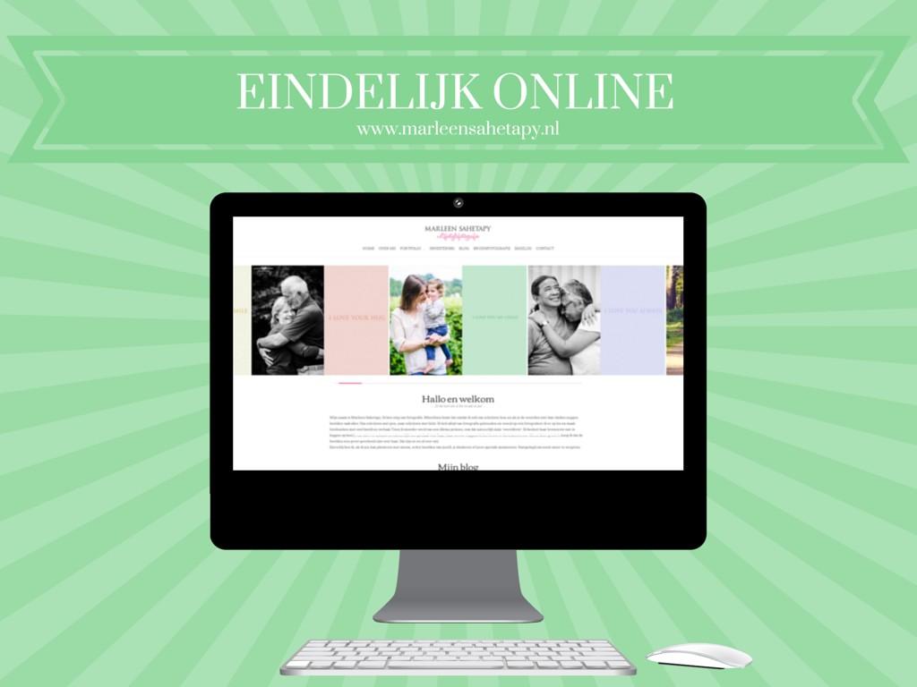Eindelijk online | Marleen Sahetapy Fotografie | marleensahetapy.nl