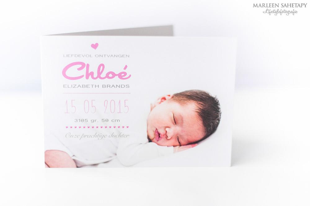 Marleen Sahetapy Fotografie - newborn Chloe geboortekaartje-6