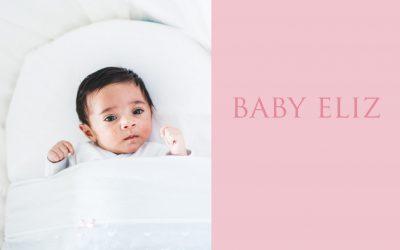 Newborn baby Eliz